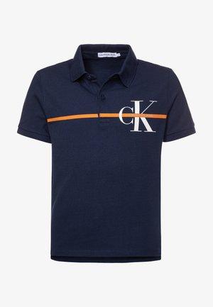 MONOGRAM STRIPE  - Polo shirt - blue