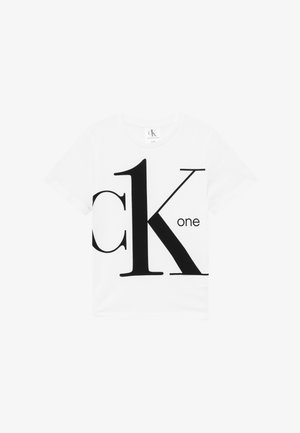 CK ONE - Triko spotiskem - white