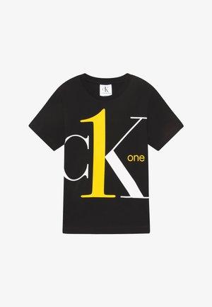 CK ONE - T-shirt print - black