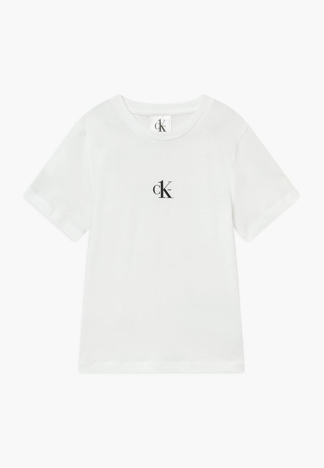 SMALL CK ONE - T-shirt basique - white