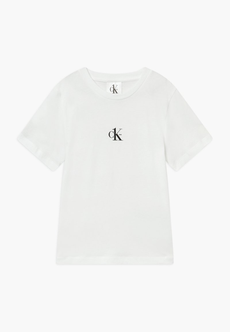 Calvin Klein Jeans - SMALL CK ONE - Basic T-shirt - white