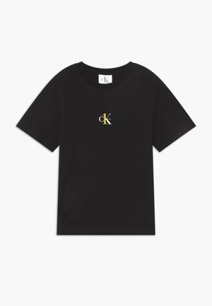 SMALL CK ONE - Basic T-shirt - black