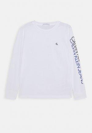 REPEAT LOGO - T-shirt à manches longues - white