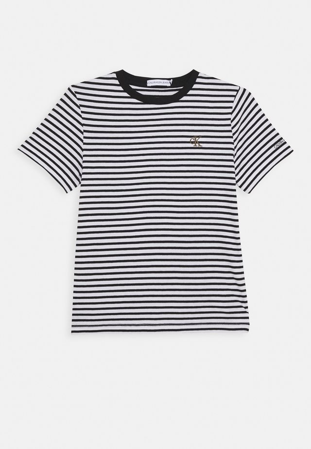 STRIPE SHIRT - T-shirt print - white