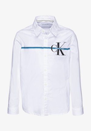 MONOGRAM STRIPE  - Košile - white
