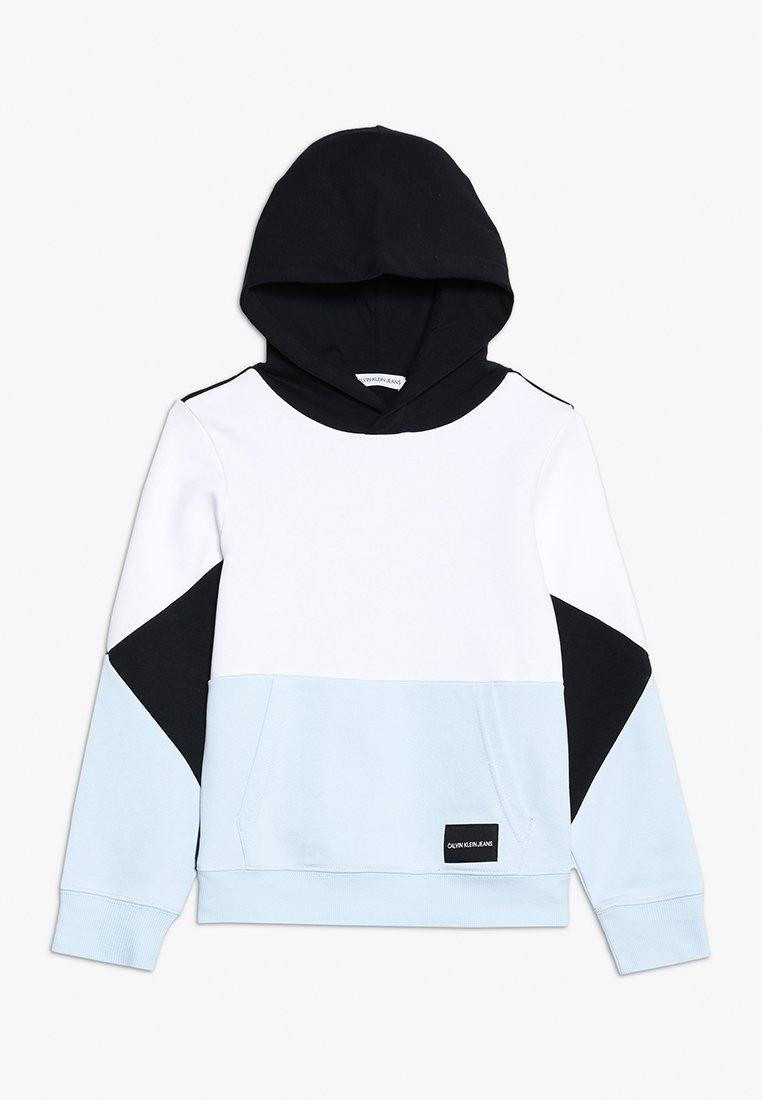 Calvin Klein Jeans - COLORBLOCK HOODIE - Mikina skapucí - black