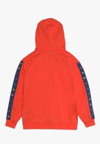 Calvin Klein Jeans - MONOGRAM TAPE HOODIE - Mikina - red - 1