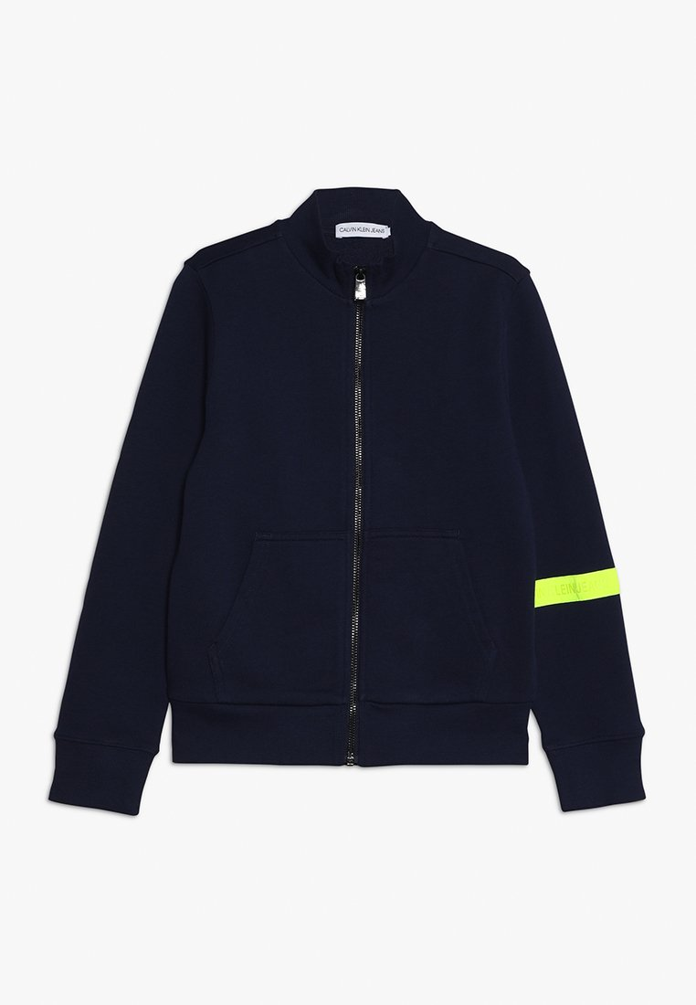 Calvin Klein Jeans - TAPE ZIP JACKET - veste en sweat zippée - blue