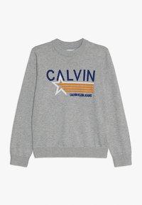 Calvin Klein Jeans - GRAPHIC  - Svetr - grey - 0