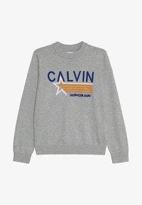 Calvin Klein Jeans - GRAPHIC  - Svetr - grey - 2