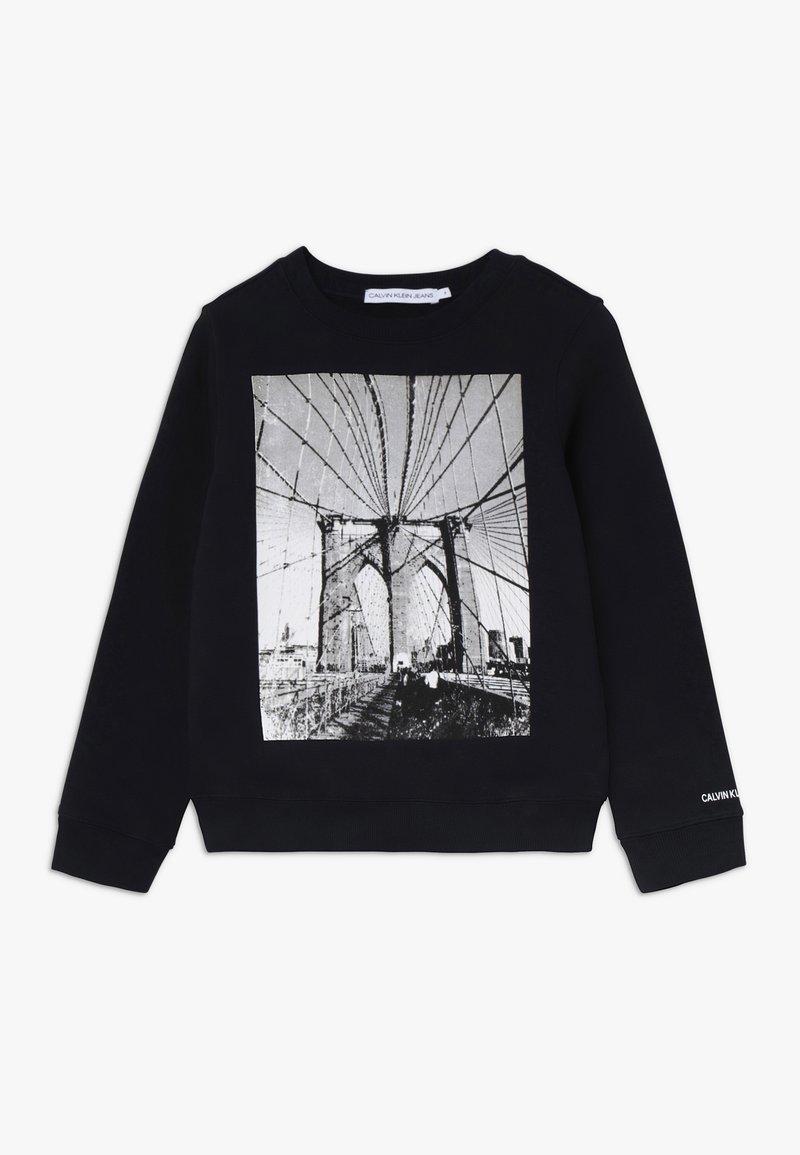Calvin Klein Jeans - PHOTO PRINT - Sweatshirt - black