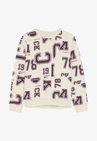 Calvin Klein Jeans - VARSITY - Mikina - beige - 3
