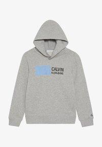 Calvin Klein Jeans - STAMP LOGO HOODIE - Huppari - grey - 2