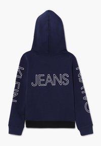 Calvin Klein Jeans - LOGO HOODIE - Jersey con capucha - blue - 1