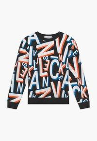 Calvin Klein Jeans - LETTER - Sweatshirt - black - 0