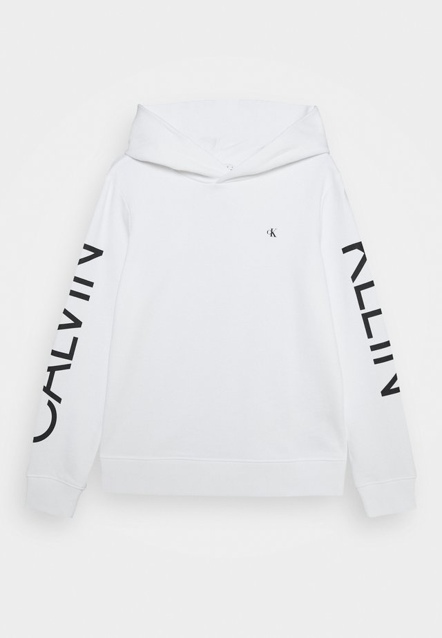 HERO LOGO HOODIE - Sweat à capuche - white