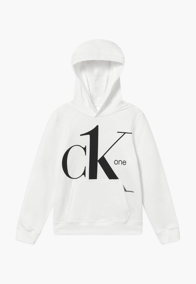 Calvin Klein Jeans - HOODIE - Hættetrøjer - white