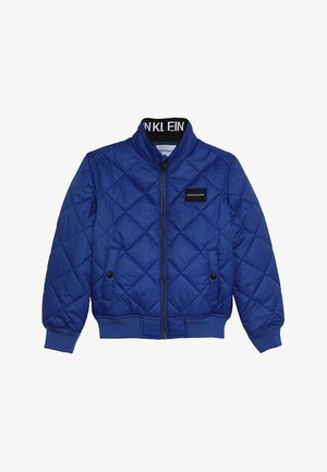 RECYCLED QUILTED PADDED - Light jacket - blue