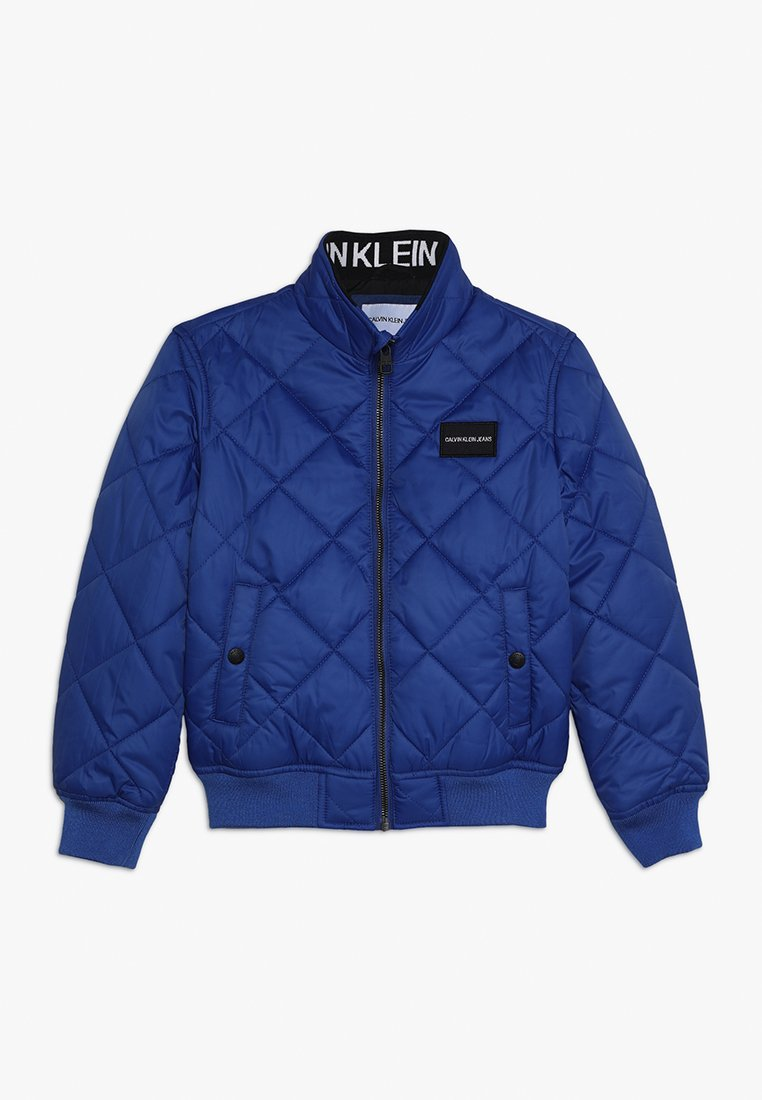 Calvin Klein Jeans - RECYCLED QUILTED PADDED - Veste mi-saison - blue