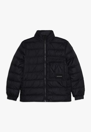 RECYCLED LIGHT BOMBER - Dunjacka - black