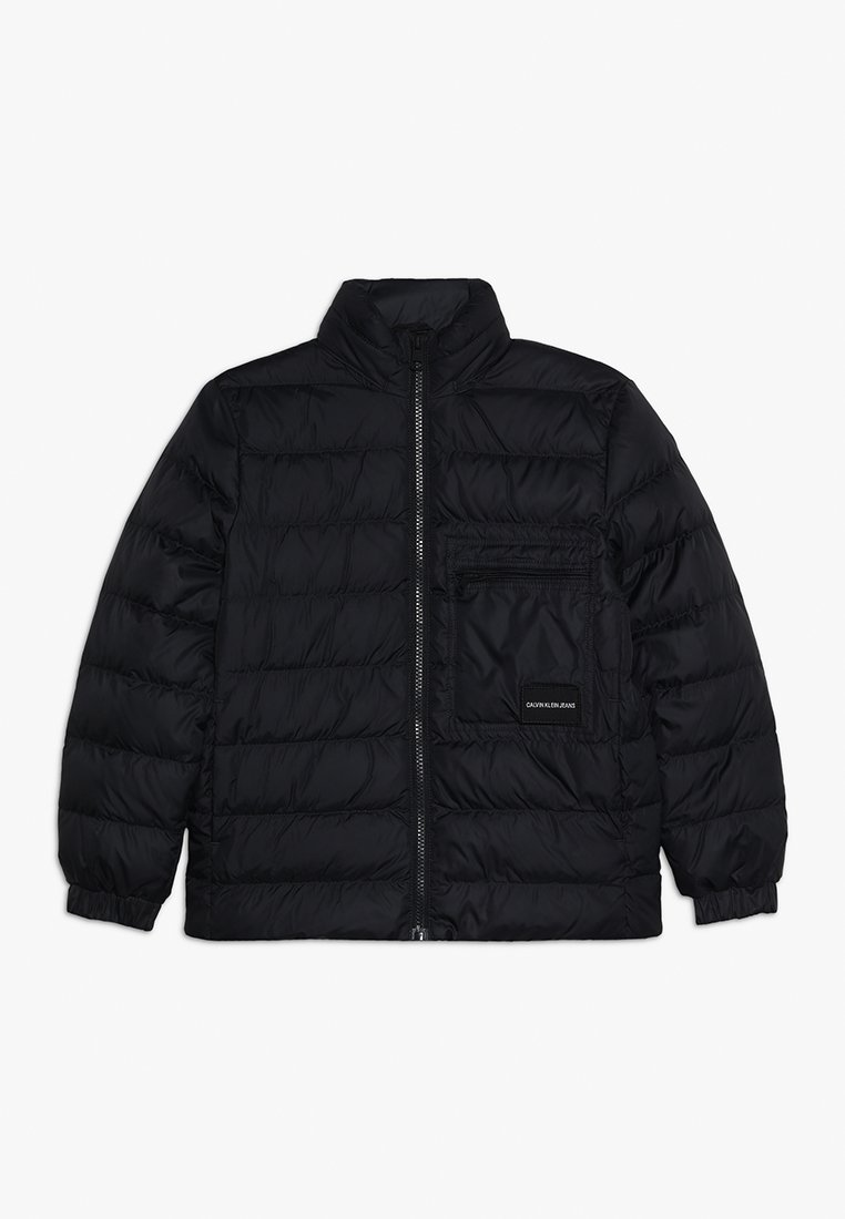 Calvin Klein Jeans - RECYCLED LIGHT BOMBER - Down jacket - black