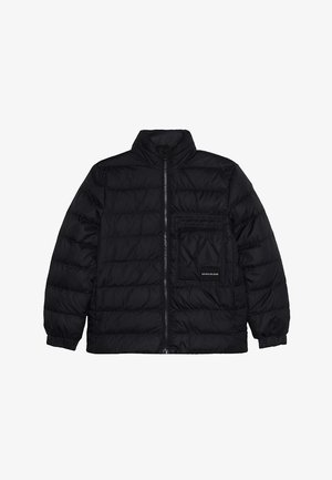 RECYCLED LIGHT BOMBER - Down jacket - black