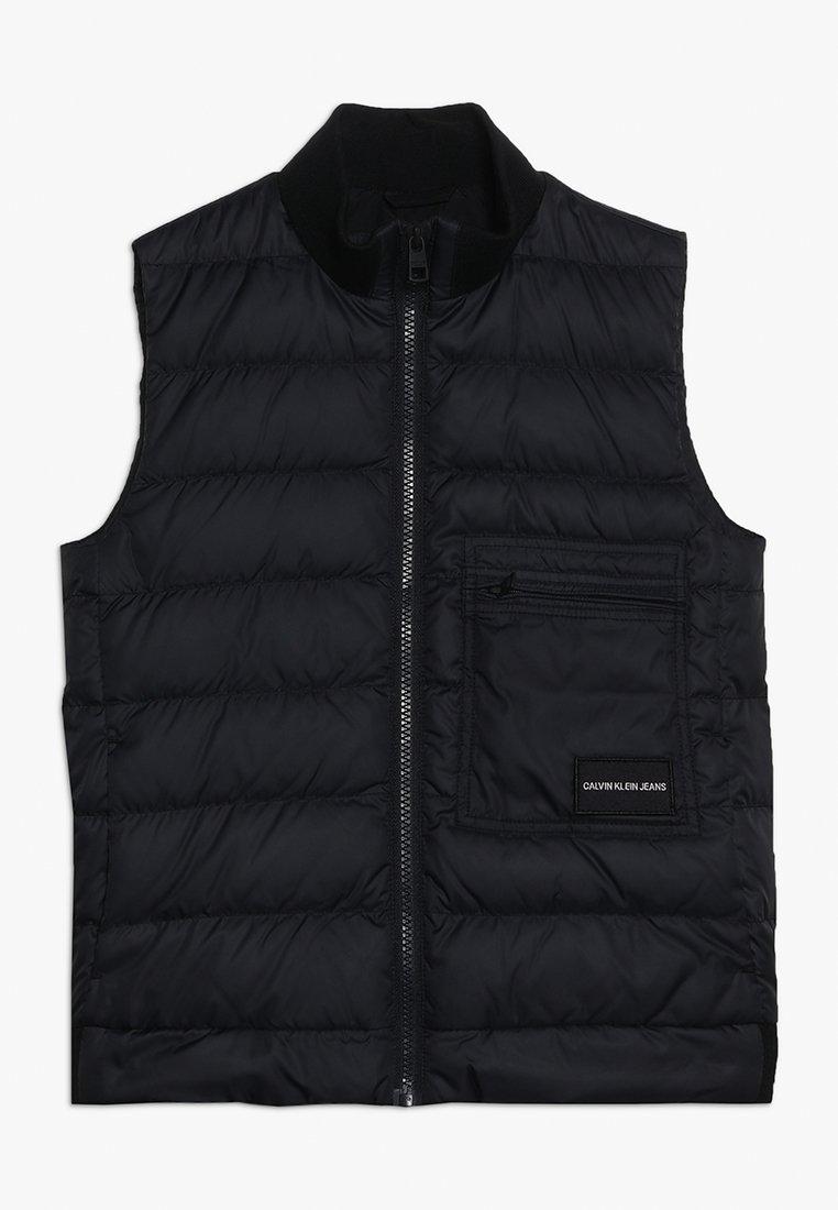 Calvin Klein Jeans - RECYCLED LIGHT VEST - Väst - black
