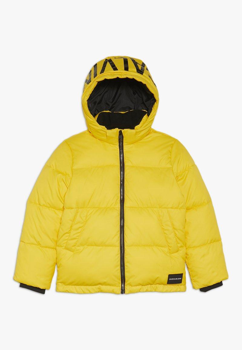 Calvin Klein Jeans - ESSENTIAL PUFFER JACKET - Veste d'hiver - yellow