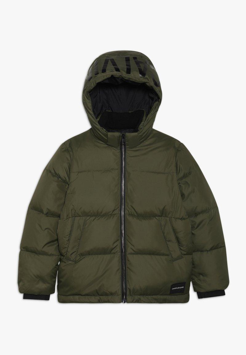 Calvin Klein Jeans - ESSENTIAL PUFFER JACKET - Winter jacket - green