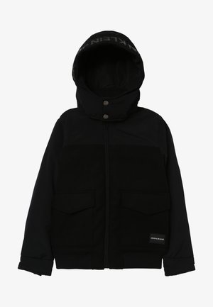 MIX MEDIA JACKET - Talvitakki - black