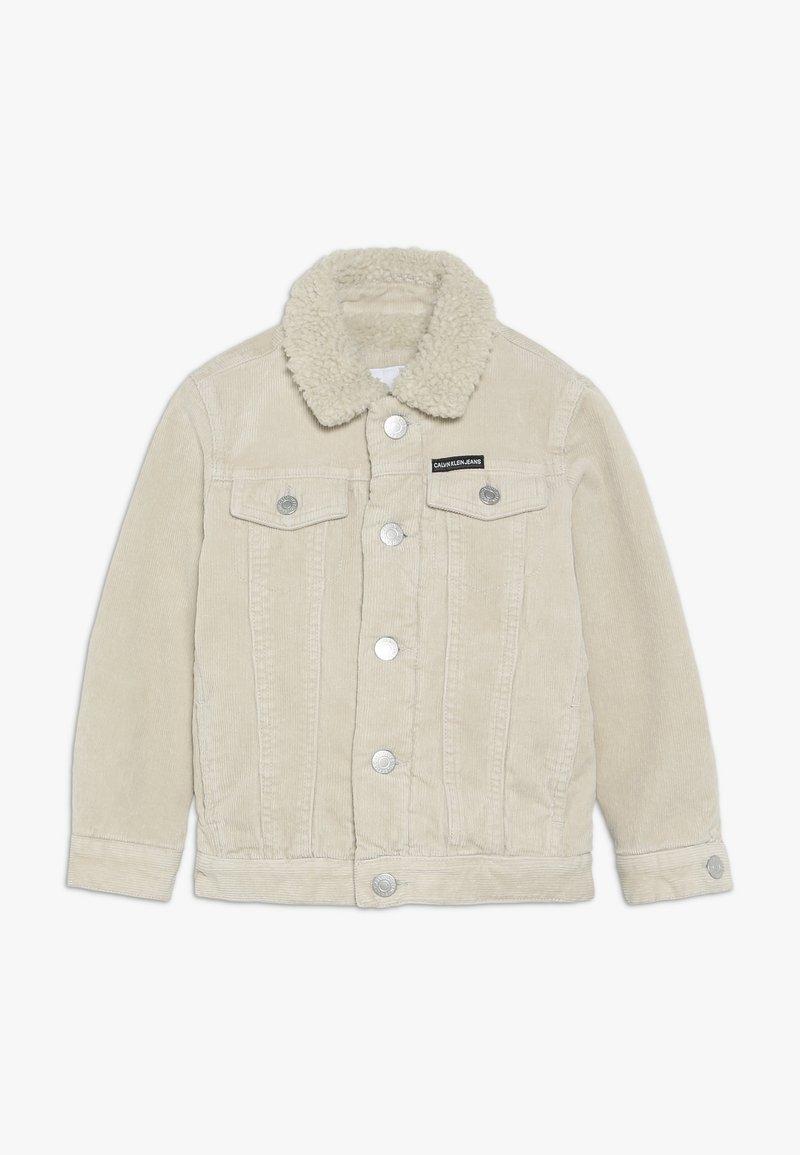 Calvin Klein Jeans - JACKET - Light jacket - beige