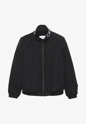 LOGO JACKET - Lehká bunda - black