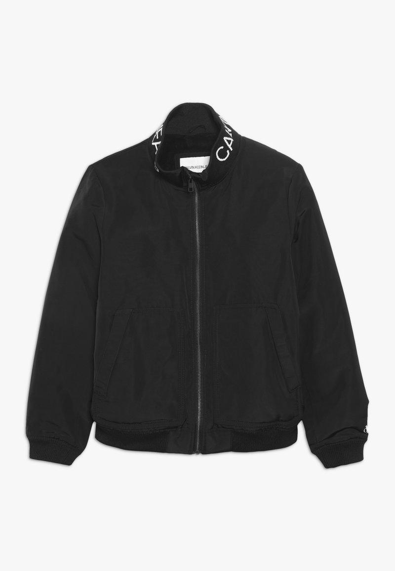 Calvin Klein Jeans - LOGO JACKET - Chaqueta de entretiempo - black