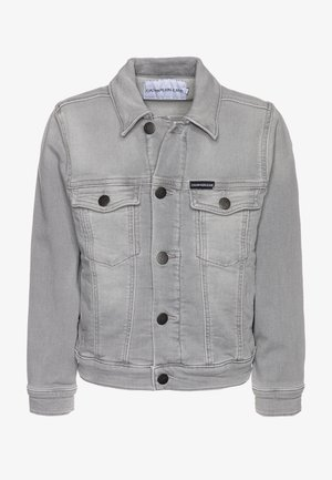 BOYS TRUCKER SOFT - Denim jacket - grey denim