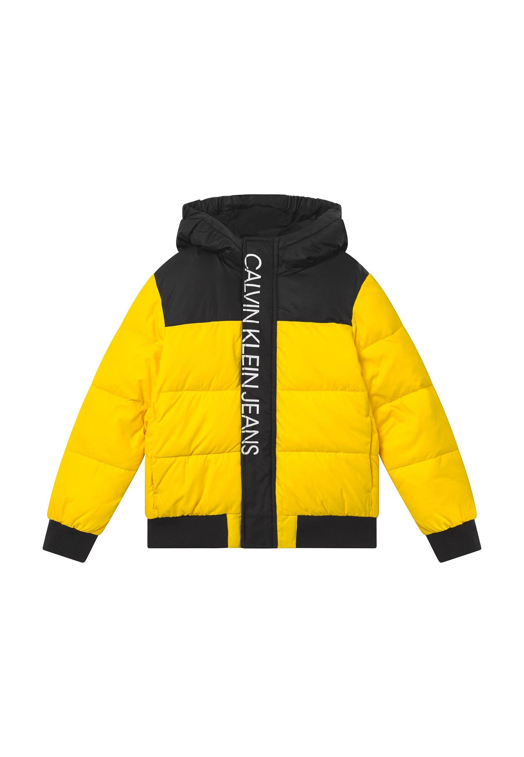 Calvin Klein Jeans COLOR BLOCK PUFFER Winterjas black