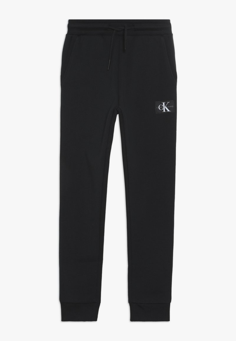Calvin Klein Jeans - MONOGRAM SWEATPANTS - Pantalon de survêtement - black