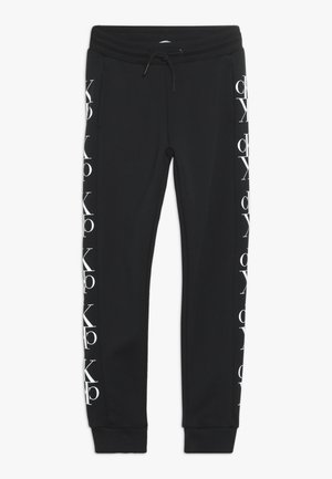 MIRROR MONOGRAM  - Pantalon de survêtement - black