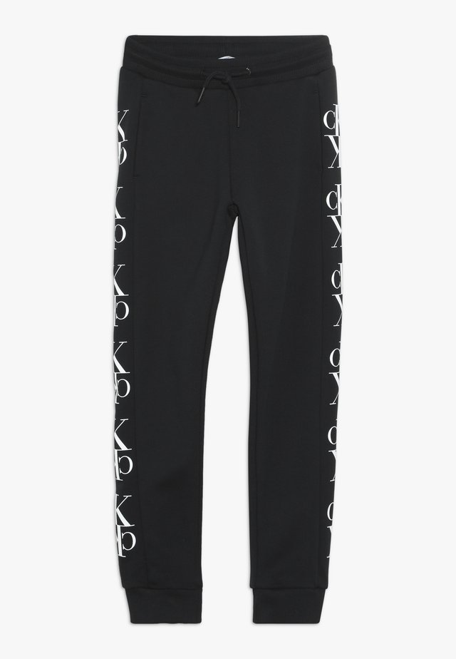 MIRROR MONOGRAM  - Pantalon de survêtement - black