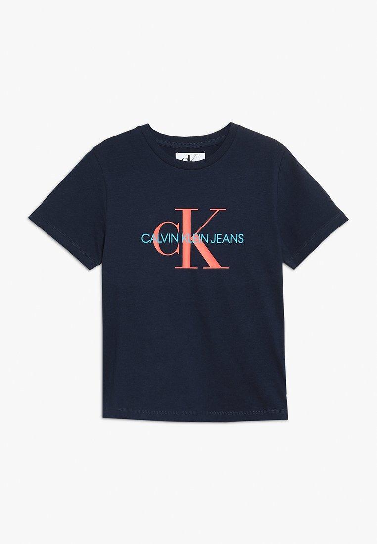 Calvin Klein Jeans - MONOGRAM TEE - Print T-shirt - blue