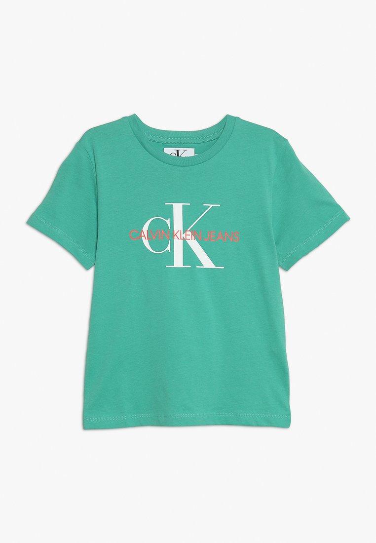 Calvin Klein Jeans - MONOGRAM TEE - Print T-shirt - green