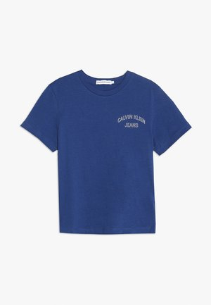 CHEST LOGO OCO TEE - T-shirt print - blue