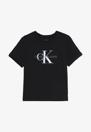 MONOGRAM LOGO - T-shirt con stampa - black beauty