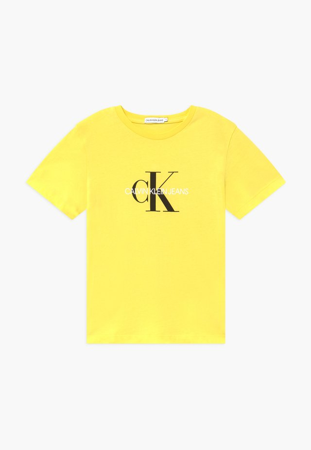 MONOGRAM LOGO  - T-shirt imprimé - yellow