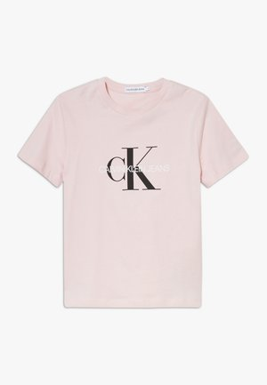 MONOGRAM LOGO  - Print T-shirt - pink