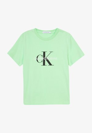 MONOGRAM LOGO  - Print T-shirt - green