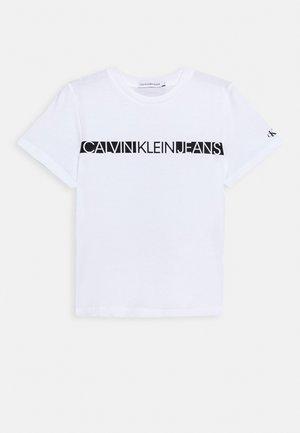 HERO LOGO - Jednoduché triko - white