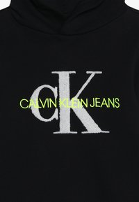 Calvin Klein Jeans - MONOGRAM HOODIE - Mikina skapucí - black - 3