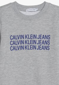 Calvin Klein Jeans - TRIPLE LOGO - Sweater - grey - 3