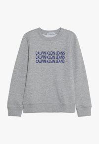 Calvin Klein Jeans - TRIPLE LOGO - Sweater - grey - 0