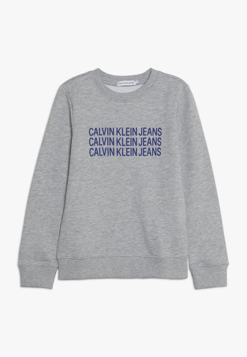 Calvin Klein Jeans - TRIPLE LOGO - Sweater - grey